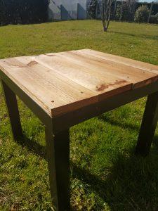 Table Ikea aménagée
