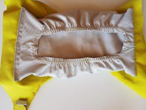 Culotte de couche hamac avec son absorbant et sans son voile